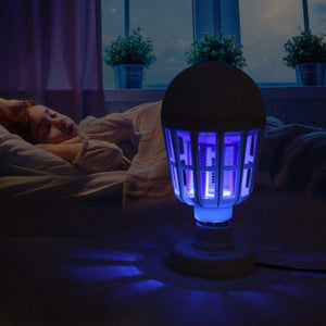 Bug Zapper Light Bulb Mosquito Killer Lamp UV