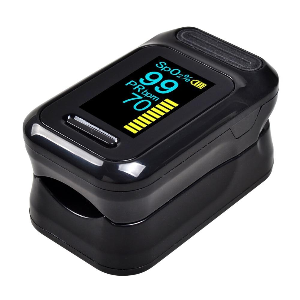 Fingertip Pulse Oximeter Blood Oxygen Saturation Monitor