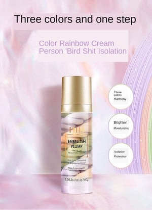 Rainbow Tricolor Makeup Base