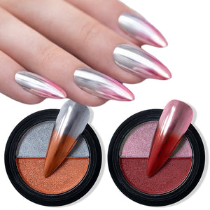 DualMirror™ Two-Tone Nail Pressed Powder