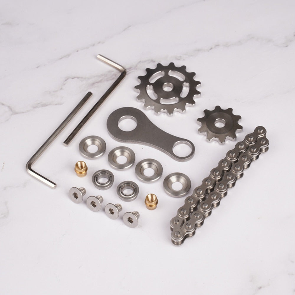 Fingertip gyro sprocket