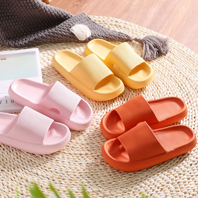 FootRelax Anti-Slip Cushion Slippers