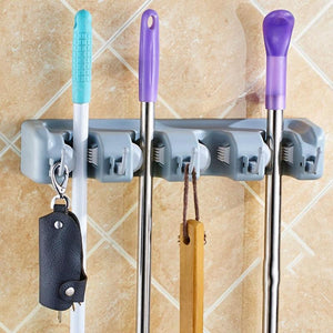 Broom Holder Garden Tool Organizer