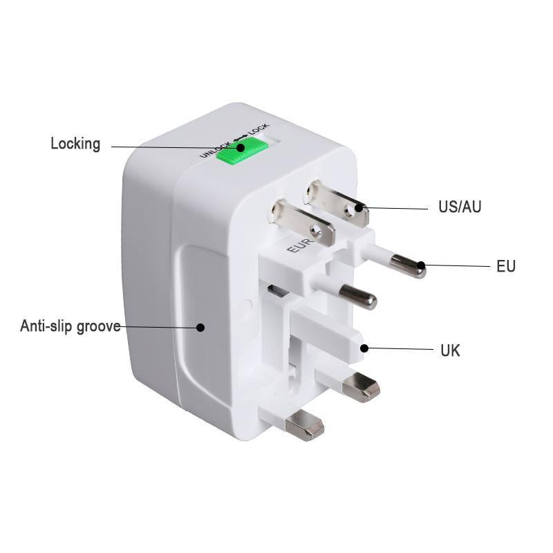 3-in-1 Universal Electric Plug Power Adapter