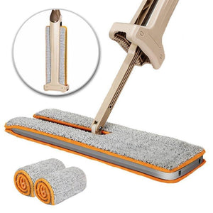 Double Sided Self-Cleaning Flat Mop