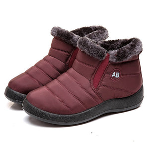 Waterproof Women's Fleece Winter Boots