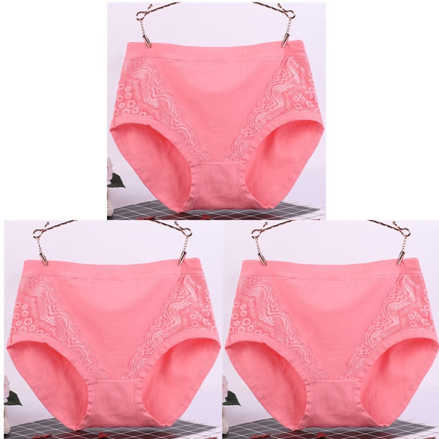 Slim-Fit Lace Underwear (3 pcs)