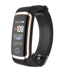 Fitness Tracker Watch Monitor Blood Pressure & Heart Rate