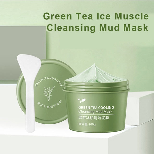 Green Tea Cooling Cleansing Mud Mask