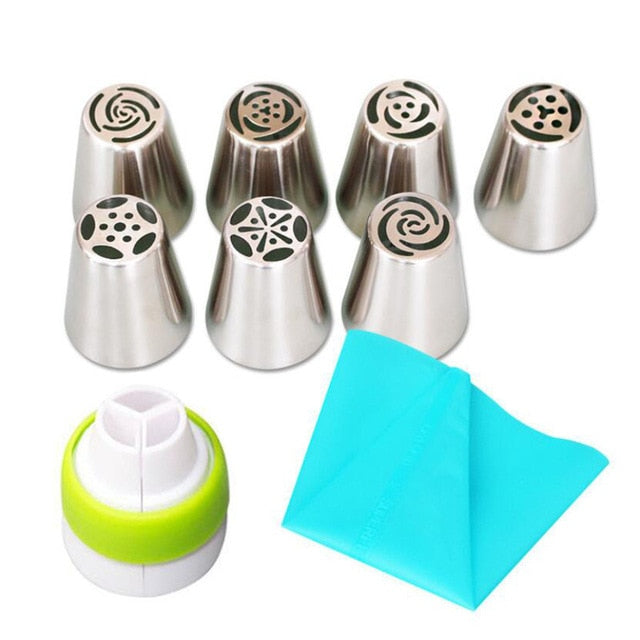 Russian Piping Tips Baking Decoration Set