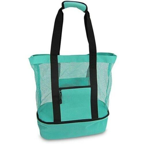 Portable Large Picnic Cooler Tote Bag, Insulated Picnic Bag