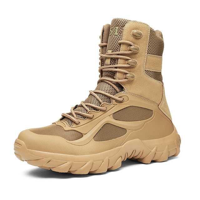 Men's Outdoor Military Combat Travel Hiking Boots