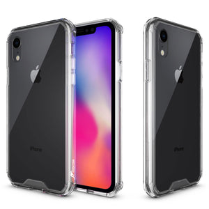 Roocase Plexis Case for iPhone XR Case - Clear