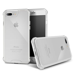 Roocase Plexis Case for iPhone 7 Plus / iPhone 8 Plus - Clear