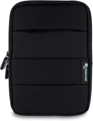 Roocase Universal Tablet Sleeve for iPad Mini, 7-inch Tablet - Front Pocket - Stand