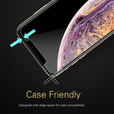 Roocase Tempered Glass Screen Protector for iPhone 11 / iPhone XR - 3-Pack - Installation Frame