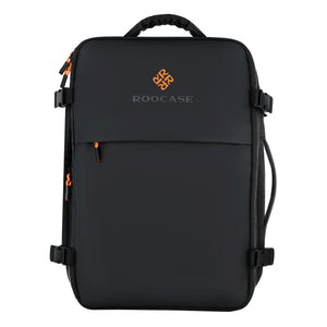 Roocase Venice Travel Backpack - Fit 15.6 inch Laptop and Tablet for Business Travel Carrying Backpack