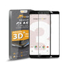 Roocase Tempered Glass Screen Protector for Google Pixel 3 - Full Coverage Edge to Edge
