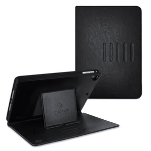 Roocase Sunset Case - iPad Air 10.5 (3rd Gen) Leather Dual View Folio Case - Magnetic Detachable Case - Convenient Stand with Auto Sleep/Wake for iPad Air 10.5 2019 / iPad Pro 10.5 2017, Black