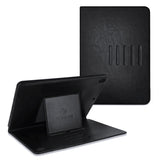 Roocase Sunset Case - iPad 9.7 2018/2017 Leather Dual View Folio Case - Magnetic Detachable Case - Convenient Stand with Auto Sleep/Wake for iPad 9.7 6th Gen 2018/5th Gen 2017, Black