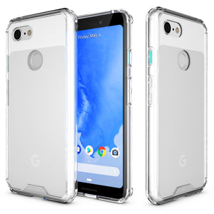 Roocase Plexis Case for Google Pixel 3 - Clear