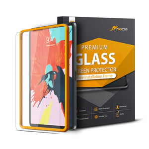 Roocase Tempered Glass Screen Protector for iPad Pro 12.9 2018 - Installation Frame