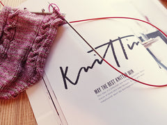 Koel Magazine for knitting, crochet, weaving, needle point and macramé at Siidegarte