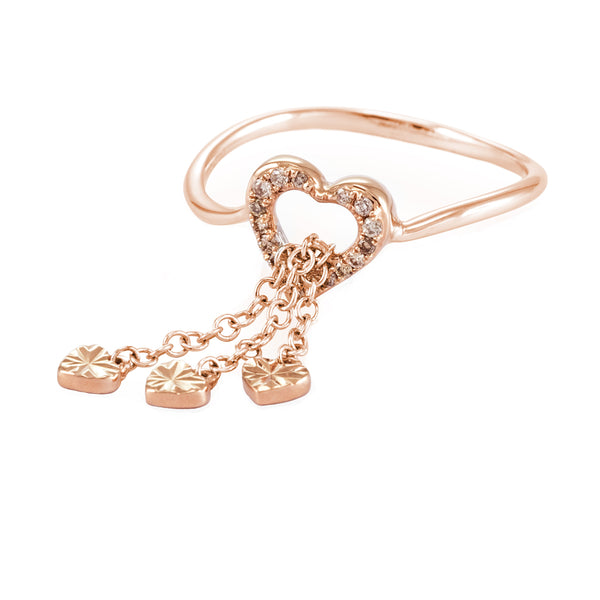 LOVE CHAIN RING