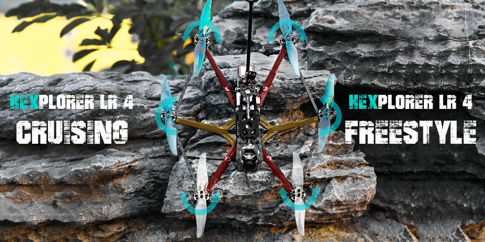 flywoo hexcopter fpv quadcopter