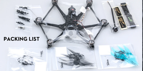 flywoo hexcopter fpv drone