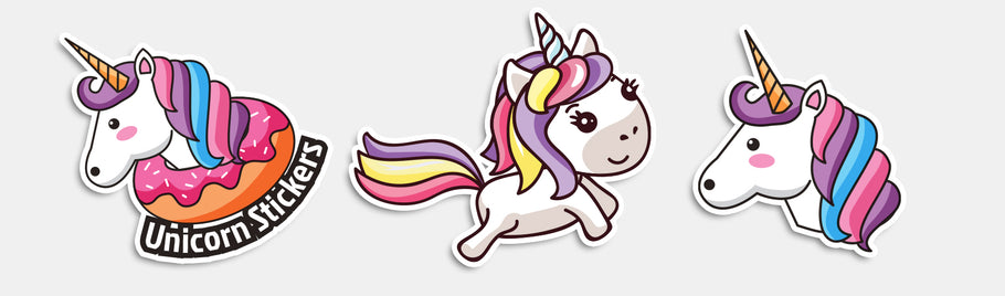 Conquer Your Fantasy With Unicorn Stickers!