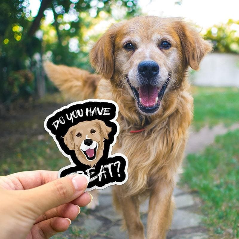 Today's Deal! Buy 1 Get 1 Free - Turn Photos into Custom Drawn Stickers