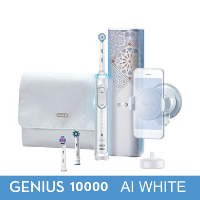 OralB Genius 10000 AI White with Artificial Intelligence