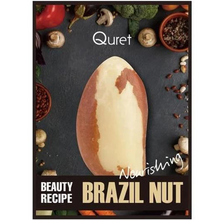 Load image into Gallery viewer, Quret Beauty Recipe Mask - Brazilnut