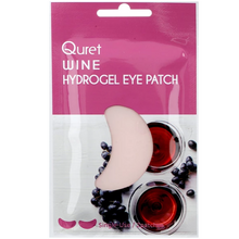 Load image into Gallery viewer, Quret Beauty Recipe Eye Patch - Red Wine