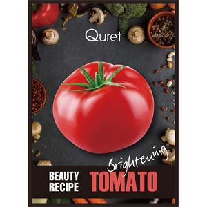 Quret Beauty Recipe Mask - Tomato