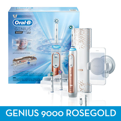 Oral-B Genius 9000 Rose Gold Electric toothbrush