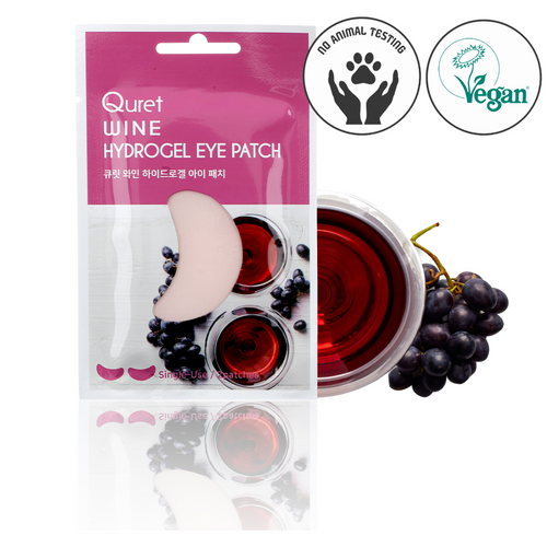 Quret Beauty Recipe Eye Patch - Red Wine
