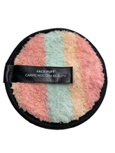 Load image into Gallery viewer, Face Puff Reusable Make-up Remover Pad 3-Pack - Rainbow