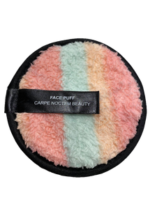 Face Puff Reusable Make-up Remover Pad 3-Pack - Rainbow