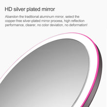 Load image into Gallery viewer, AMIRO O-Series LED Beauty Mirror - Black
