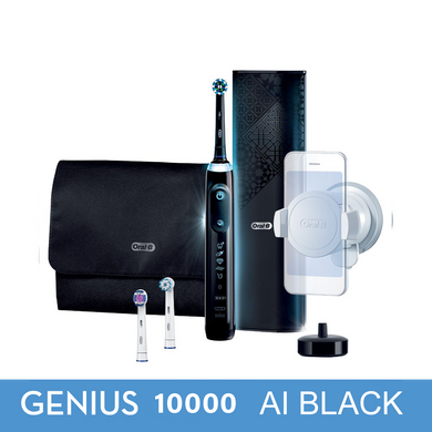 OralB Genius 10000 AI Black with Artificial Intelligence