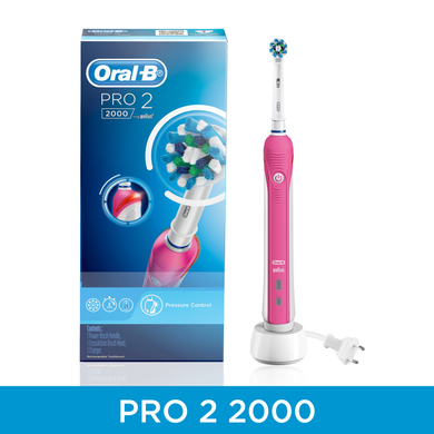 Oral-B Pro2000 Pink Electric toothbrush