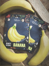 Load image into Gallery viewer, Quret Beauty Recipe Mask - Banana