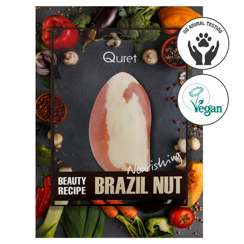 Quret Beauty Recipe Mask - Brazilnut