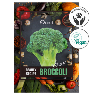Quret Beauty Recipe Mask - Broccoli