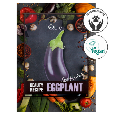Quret Beauty Recipe Mask - Eggplant