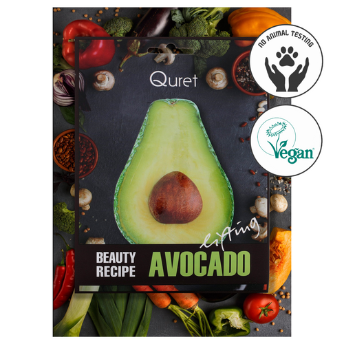 Quret Beauty Recipe Mask - Avacado