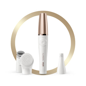 Braun FaceSpa Pro SE911 Epilator – 3-in-1 Facial epilating, vitalizing & skin toning system