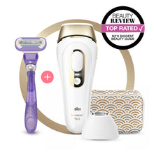 Load image into Gallery viewer, Braun Silk-expert Pro 5 PL5137 IPL with 3 extras: precision head, Venus razor and premium pouch